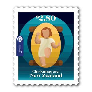 Christmas 2021 $2.80 Self-adhesive Stamp