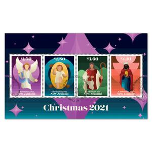 Christmas 2021 Cancelled Miniature Sheet