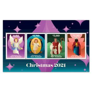 Christmas 2021 Mint Miniature Sheet