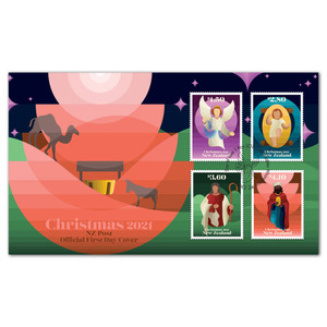 Christmas 2021 First Day Cover