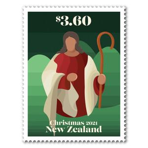 Christmas 2021 $3.60 Stamp