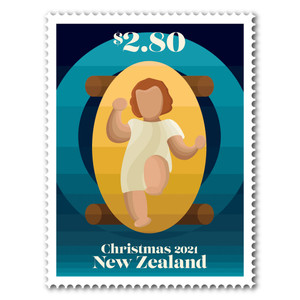 Christmas 2021 $2.80 Stamp