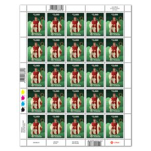 Christmas 2021 $3.60 Stamp Sheet