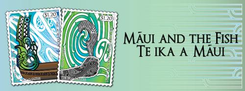 Maui and the Fish - Te Ika-a-Maui