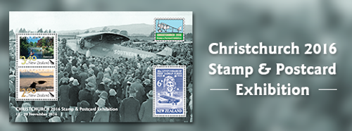 2016 Christchurch Stamp and Postcard Exhibition
