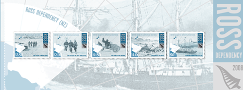 2008 Ross Dependency - British Antarctic Expedition 1907 - 1909