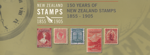 150 Years of New Zealand Stamps 1855 - 1905