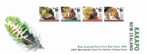 2005 World Wildlife Fund for Nature - The Kākāpō