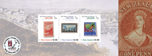 New Zealand 2005 National Stamp Show