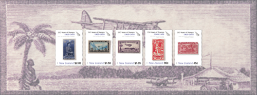 150 Years of New Zealand Stamps 1905 - 1955