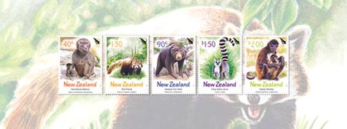 2004 Year of the Monkey - New Zealand Zoo Animals