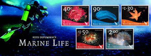 2003 Ross Dependency - Marine Life