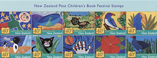 New Zealand Post Children's Book Festival Stamps