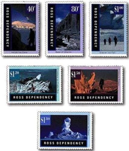 1996 Ross Dependency - Antarctic Landscapes