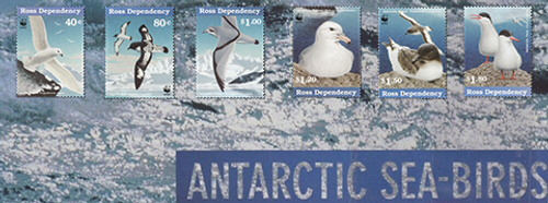 1997 Ross Dependency - Antarctic Sea Birds