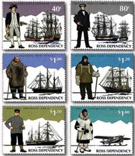 Ross Dependency - Explorers