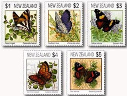 Butterflies 1991 Definitives