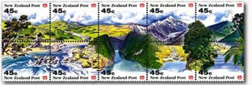 NZ Scenic Stamp Booklet