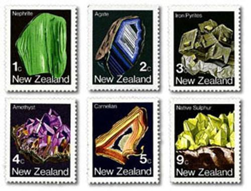 1982 Definitives - Minerals