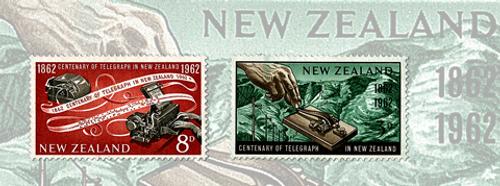 Centenary of Telegraph in New Zealand