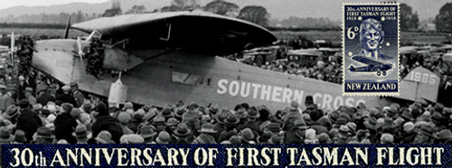 First Trans-Tasman Flight 30th Anniversary - Kingsford Smith