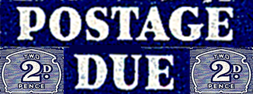 1939 Postage Dues