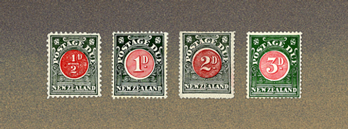 1902 Postage Dues