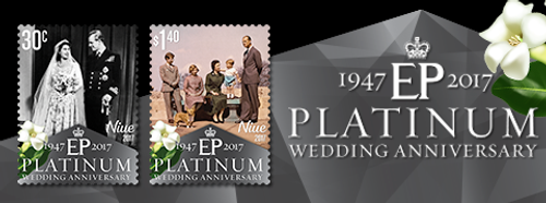 Niue Platinum Wedding Anniversary