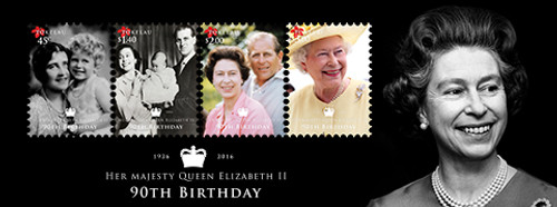Tokelau - 90th Birthday of Queen Elizabeth II