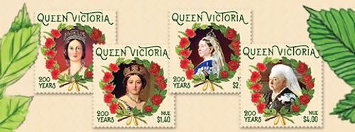 Niue Queen Victoria 200 Years