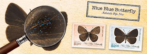 Niue Blue Butterfly