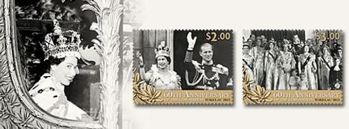 Tokelau Queen Elizabeth II - 60th Anniversary of the Coronation