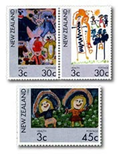 1986 Health Stamps