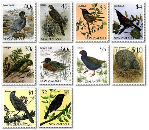 1985 Bird Definitives