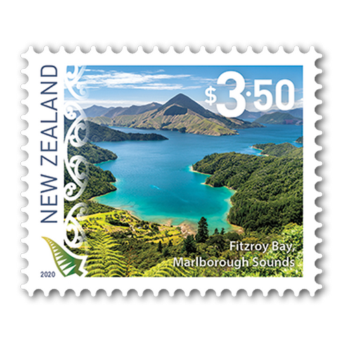 2020 Scenic Definitives Set of Used Self-adhesive Stamps