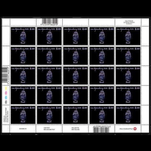 2020 Ross Dependency: Seasons of Scott Base $4.00 Stamp Sheet
