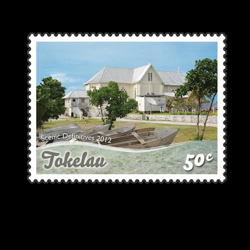 Tokelau Scenic Definitives 2012 50c Stamp