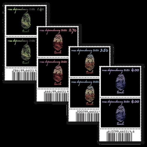 2020 Ross Dependency: Seasons of Scott Base Set of Barcode A Blocks
