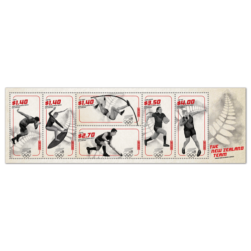 Tokyo 2020 Olympic Games Used Miniature Sheet