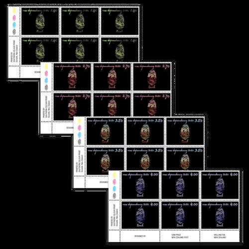 2020 Ross Dependency: Seasons of Scott Base Set of Plate Blocks