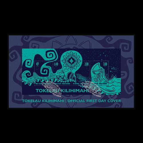 2020 Tokelau Kilihimahi Miniature Sheet First Day Cover