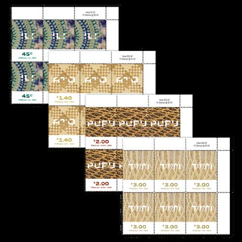 Tokelau Weaving 2020 Set of Value Blocks