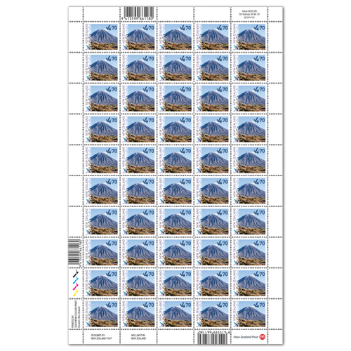 2020 Scenic Definitives $4.70 Stamp Sheet