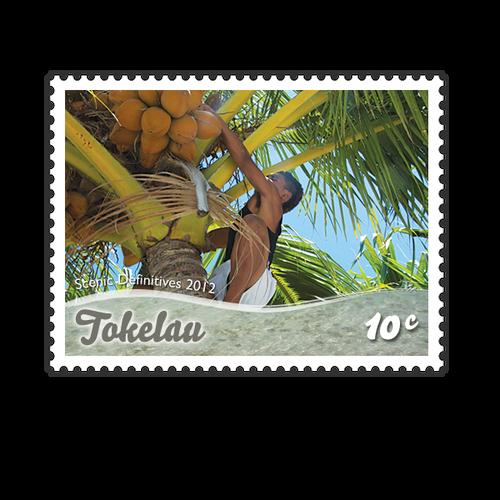 Tokelau Scenic Definitives 2012 10c Stamp