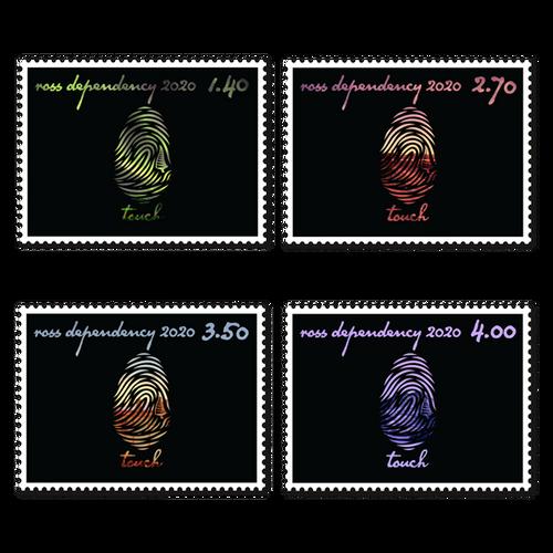 2020 Ross Dependency: Seasons of Scott Base Set of Used Stamps