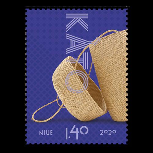 Niue Weaving 2020 $1.40 Stamp
