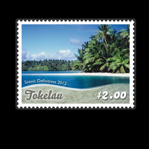 Tokelau Scenic Definitives 2012 $2.00 Stamp