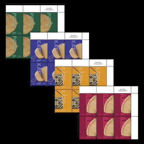 Niue Weaving 2020  Set of Value Blocks