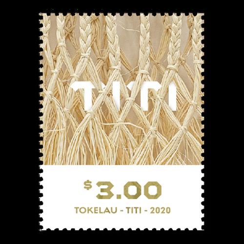 Tokelau Weaving 2020 $3.00 Stamp