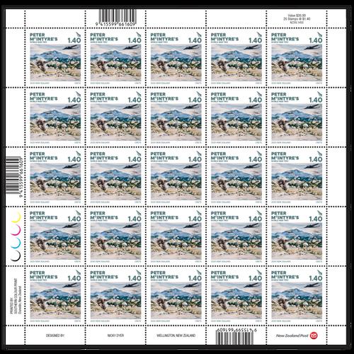 2020 Peter McIntyre's World War Two $1.40 Stamp Sheet